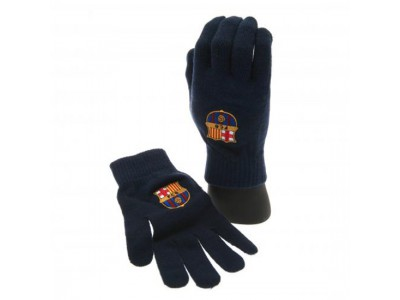 FC Barcelona handsker - Knitted Gloves Adult