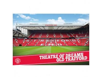 Manchester United plakat - MUFC Poster Stadium 17