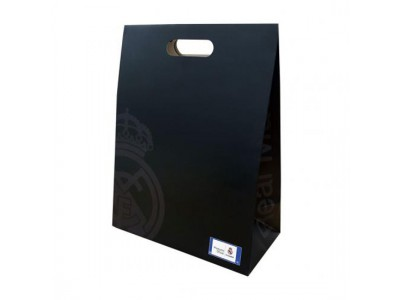 Real Madrid gave pose - Gift Bag Medium Black