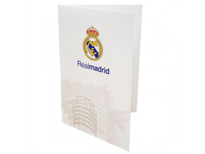 Real Madrid lyønsknings kort - Greetings Card WT