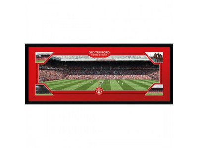Manchester United billede - Picture Old Trafford 30 x 12