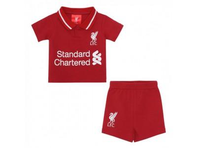Liverpool hjemme shorts sæt - 18/19 Home Kit Short Set - baby