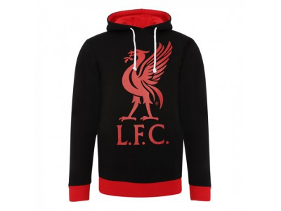 Liverpool hættetrøje - Black Liverbird Hoody