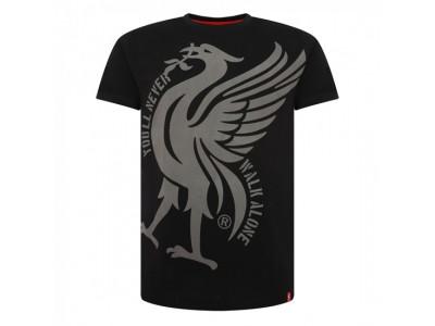 Liverpool t-shirt - Black Liverbird YNWA Tee - voksen