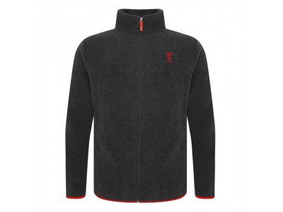 Liverpool trøje fleece lynlås - Grey Zip Thru Fleece