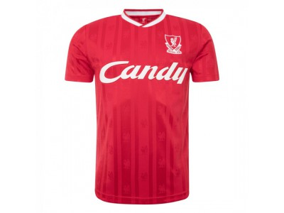 Liverpool retro trøje - Candy 88 - 89 Home Shirt