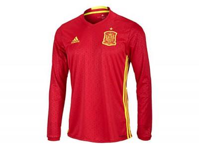 Spanien hjemme trøje L/Æ EM 2016