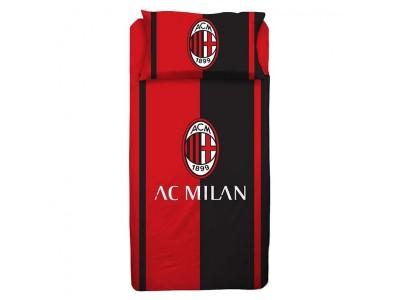 AC Milan sengetøj - rød/sort