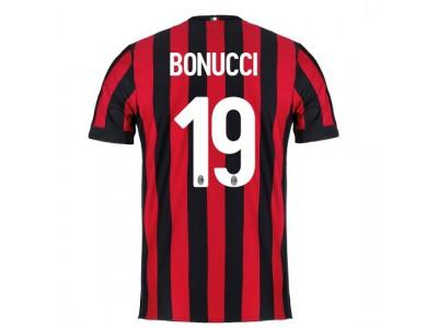 AC Milan hjemme trøje 2017/18 - BONUCCI 19