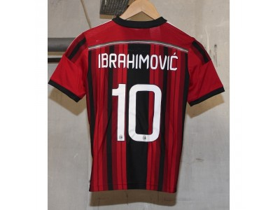 AC Milan hjemme trøje 2014/15 - børn - Ibra 10