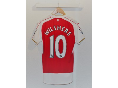 Arsenal hjemme trøje - Wilshere 10