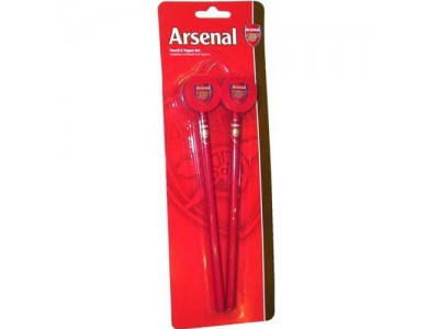Arsenal blyant sæt 2 styk