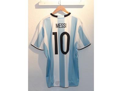 Argentina hjemme trøje Copa America 2016 - Messi 10