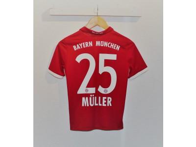 FC Bayern hjemme trøje - Müller 25 - børn