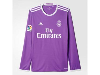 Real Madrid ude trøje L/Æ 2016/17 - børn