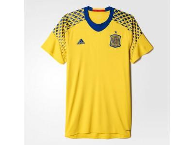 Spanien ude trøje målmand EM 2016