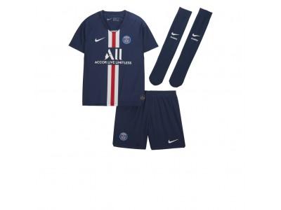 Paris SG hjemme sæt 2019/20 - små drenge PSG - fra Nike