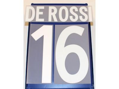 AS Roma hjemme tryk 2012/13 - De Rossi 16
