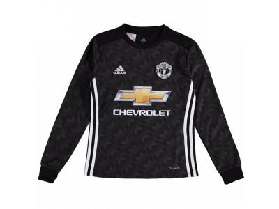 Manchester United ude trøje L/Æ 2017/18 - børn