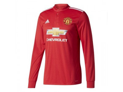Manchester United hjemme trøje L/Æ 2017/18