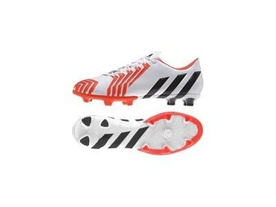 Predator Instinct FG støvler - hvid - rød