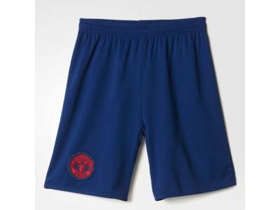 Manchester United ude shorts 2016/17 - børn