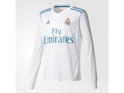 Real Madrid hjemme trøje L/Æ 2017/18 - børn
