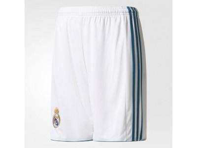 Real Madrid hjemme shorts 2017/18 - børn