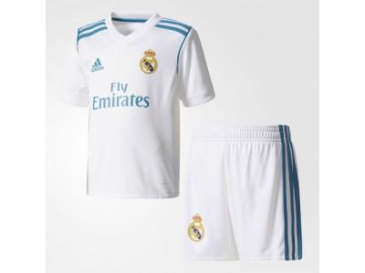 Real Madrid hjemme minisæt 2017/18 - små drenge