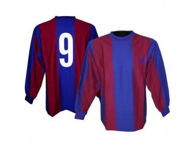 FC Barcelona retro trøje m. lange ærmer 1970erne - Cruyff 9
