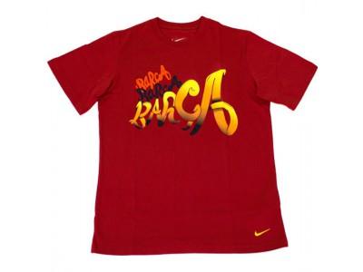 FC Barcelona t-shirt core 2011/12 - rød - børn