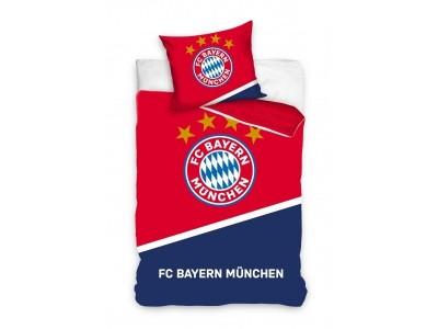 FC Bayern sengetøj - rød/marineblå