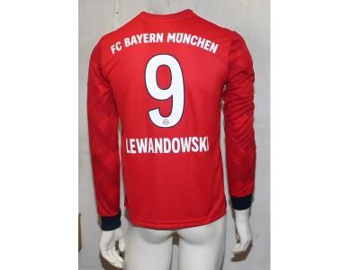 FC Bayern hjemme trøje L/Æ 2018/19 - børn - Lewa 9