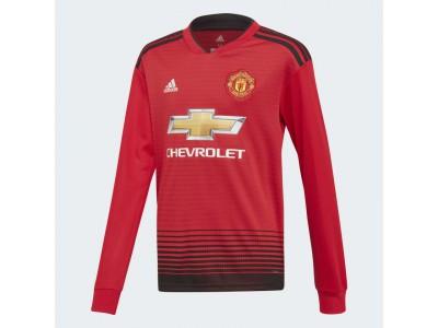 Manchester United hjemme trøje L/Æ 2018/19 - børn