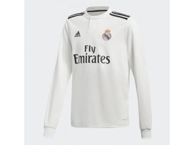 Real Madrid hjemme trøje L/Æ 2018/19 - børn