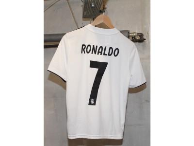 Real Madrid hjemme trøje 2018/19 -  børn - RONALDO 7
