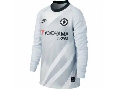 Chelsea tredje målmandstrøje 2019/20 - børn