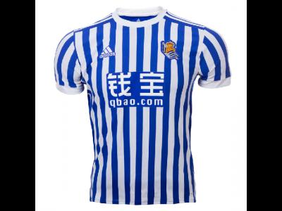 Real Sociedad hjemme trøje 2017/18