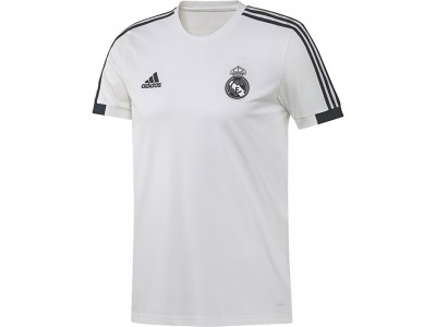 Real Madrid t-shirt 2018/19 - hvid