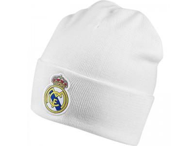 Real Madrid woolie hue 2018/19 - hvid - børn, voksen