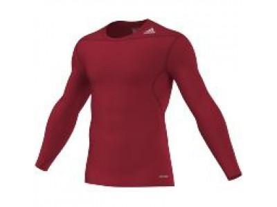 Adidas kompressions-trøje L/S - rød