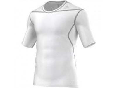 Adidas kompressions-trøje - hvid