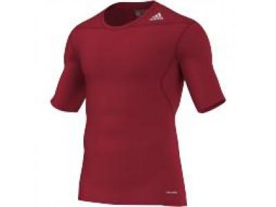Adidas kompressions-trøje - rød