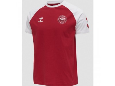 Danmark fan t-shirt 2020/22 - fra Hummel