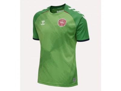 Danmark målmandstrøje 2020/22 - grøn - børn - fra Hummel