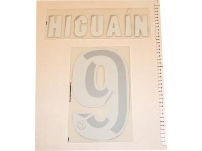 Napoli home printing 2013/14 - Higuain 9
