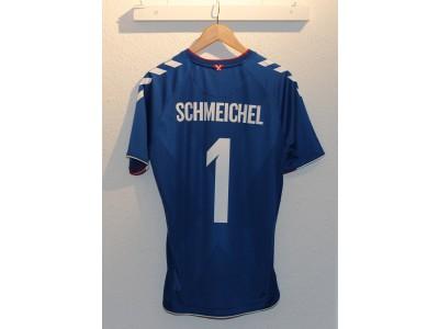 Danmark målmands trøje VM 2018 - Schmeichel 1