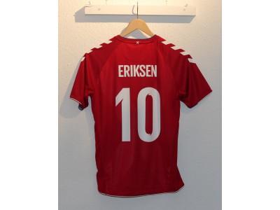 Danmark hjemme trøje VM 2018 - børn - Eriksen 10
