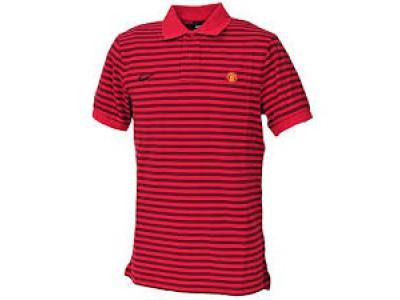 Manchester United polo trøje klassisk 2010/11 - rød