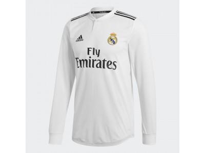 Real Madrid hjemme trøje autentisk L/Æ 2018/19